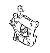 Brake Caliper - Front Right